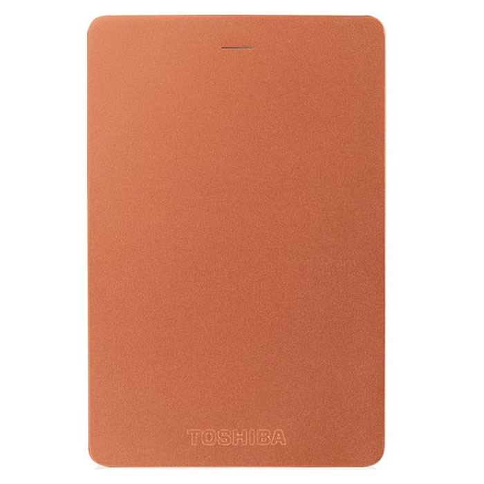 Toshiba Canvio Alu 1TB, Red внешний жесткий диск (HDTH310ER3AA)HDTH310ER3AAХраните важные данные надежно на внешнем жестком диске Toshiba Canvio Alu! Доступ к записанной информации осуществляется быстро и легко при помощи подключения USB 3.0. С его элегантным алюминиевым корпусом в различных цветовых вариациях вы приобретаете стильное и яркое решение для хранения нужных файлов. Диск необычайно прост в использовании, встроенное программное обеспечение резервного копирования NTI позволяет делать регулярные автоматические резервные копии данных для дополнительной безопасности.