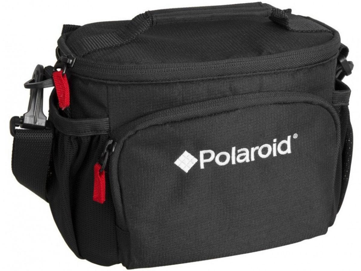 Polaroid JOZ 36 Compact SLR Case сумка для фотокамерыPLJOZ36Сумка Polaroid JOZ 36 Compact SLR Case вмещает компактный фотоаппарат DSLR с объективом до3.5 или беззеркальную камеру с объективом , дополнительный объектив, вспышку, аксессуары. Регулируемые мягкие делители обеспечивают защиту от ударов, а передний карман вмещает карты памяти, аккумуляторы и другие мелкие предметы. Боковые карманы из сетки идеально держат телефон или Ipod. Регулируемый, съемный плечевой ремень и ручка для переноски обеспечивает удобные варианты переноски.