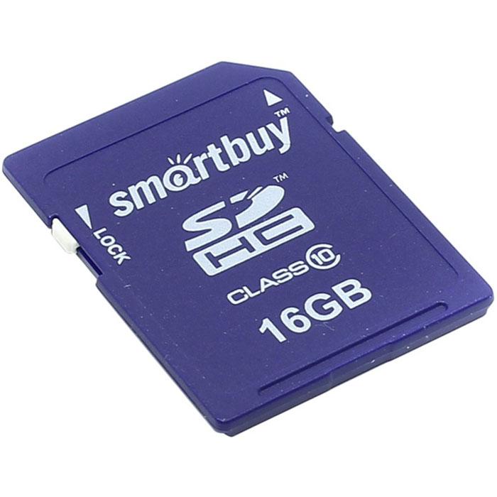 SmartBuy SDHC Class 10 16GB карта памятиSB16GBSDHCCL10SmartBuy SDHC Class 10 16GB - компактное универсальное устройство для хранения информации. Она может использоваться в коммуникаторах, камерах, цифровых фотоаппаратах, компьютерах и многих других устройствах.