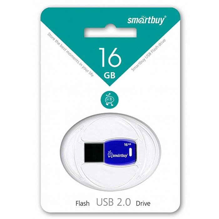 SmartBuy Cobra 16GB, Dark Blue USB-накопитель