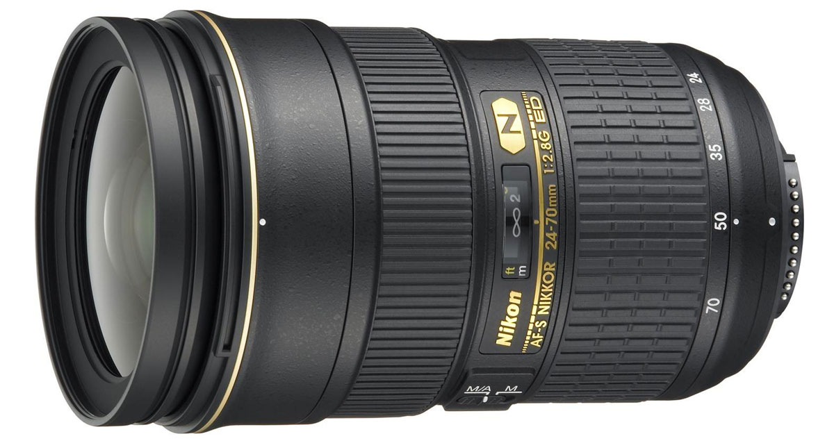 Nikon AF-S Nikkor 24-70mm f/2.8G ED объектив ed emberley s fingerprint drawing book
