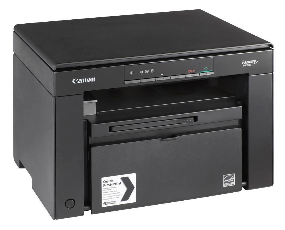Canon i-Sensys MF30105252B004Canon i-SENSYS MF3010Стильное, настольное решение для персонального использования.Быстрая печать, копирование и сканирование для вашего удобства, на компактном монохромном лазерном принтере прямо с компьютера. Он идеально подходит для дома и малых офисов и отличается высокой производительностью, простотой использования и энергоэффективностью.