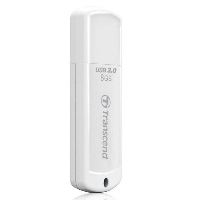 Transcend JetFlash 370 8GB USB-накопительTS8GJF370Удобный флэш-накопитель Transcend JetFlash 370 имеет защитный колпачок, помогающий уберечь его от возможных повреждений во время транспортировки. Благодаря высокоскоростному интерфейсу Hi-Speed USB 2.0 и большой емкости, накопители JetFlash 370 максимально упростят хранение, перенос и распространение любых цифровых файлов в дороге.