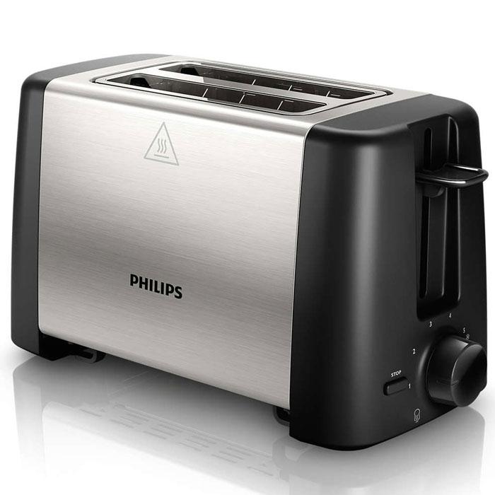 Philips HD4825/90 Daily Collection тостерHD4825/90Philips HD4825/90 Daily Collection - компактный тостер, который позволяет наслаждаться вкусными тостами из свежего или замороженного хлеба. Широкая нагревательная пластина гарантирует более равномерное обжаривание, функция разморозки обеспечивает приготовление тостов из замороженного хлеба, а регулятор степени обжарки позволяет готовить их так, как нравится именно вам.Функция разморозки предназначена для обжаривания замороженных ломтиков хлеба. Регулятор позволяет выбрать нужную степень обжарки. Широкая нагревательная пластина служит для более равномерного обжаривания тостов. Завершить приготовление вы можете в любой момент. Специальный подъемник позволяет легко доставать небольшие ломтики хлеба. Поддон для крошек легко снимается и обеспечивает простую очистку. А отделение для шнура обеспечивает удобное хранение тостера.