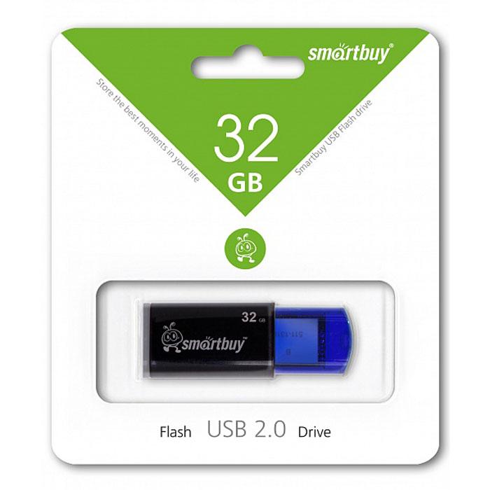 SmartBuy Click 32GB, Blue USB-накопительSB32GBCL-BНакопитель Smartbuy Click может похвастаться ярким дизайном благодаря инновационному выдвижному USB- коннектору. Click имеет отполированную и приятную на ощупь поверхность.Инновационный выдвижной коннекторЭлегантный дизайн и приятная на ощупь отполированная поверхностьОтверстие для шнуркаСовместим с: Windows 8/7/XP/2000/Vista, Mac OS 8.6 и Linux 2.4.0 (или выше)