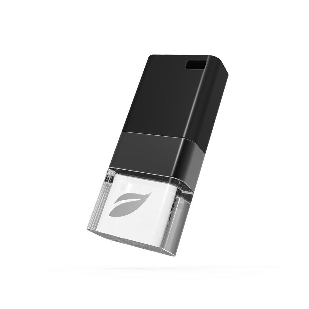 Leef ICE 64GB, Black USB-накопитель leef bridge lfbri 032gkr 32gb usb microusb black