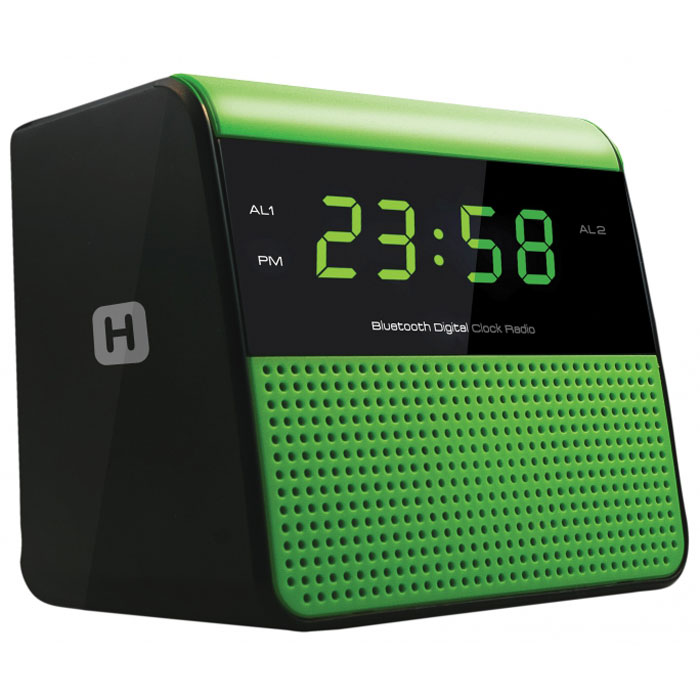 Harper HRCB-7768 радиобудильникHRCB-7768Harper HRCB-7768 представляет собой радиобудильник, который благодаря функции Bluetooth может использоваться как портативная акустика.Основными особенностями модели являются:Подключение радиочасов к Bluetooth-устройствам, с трансляцией аудио сигнала на нихДисплей: LED, 0,6USB зарядкаВерсия Bluetooth: 2.1Тип питания: 1,5 В (2XAA/LR06/UM3), 2 шт.Два режима работы будильника (радио/сигнал)Два будильника, два уровня подачи звукового сигнала (громко/тихо)
