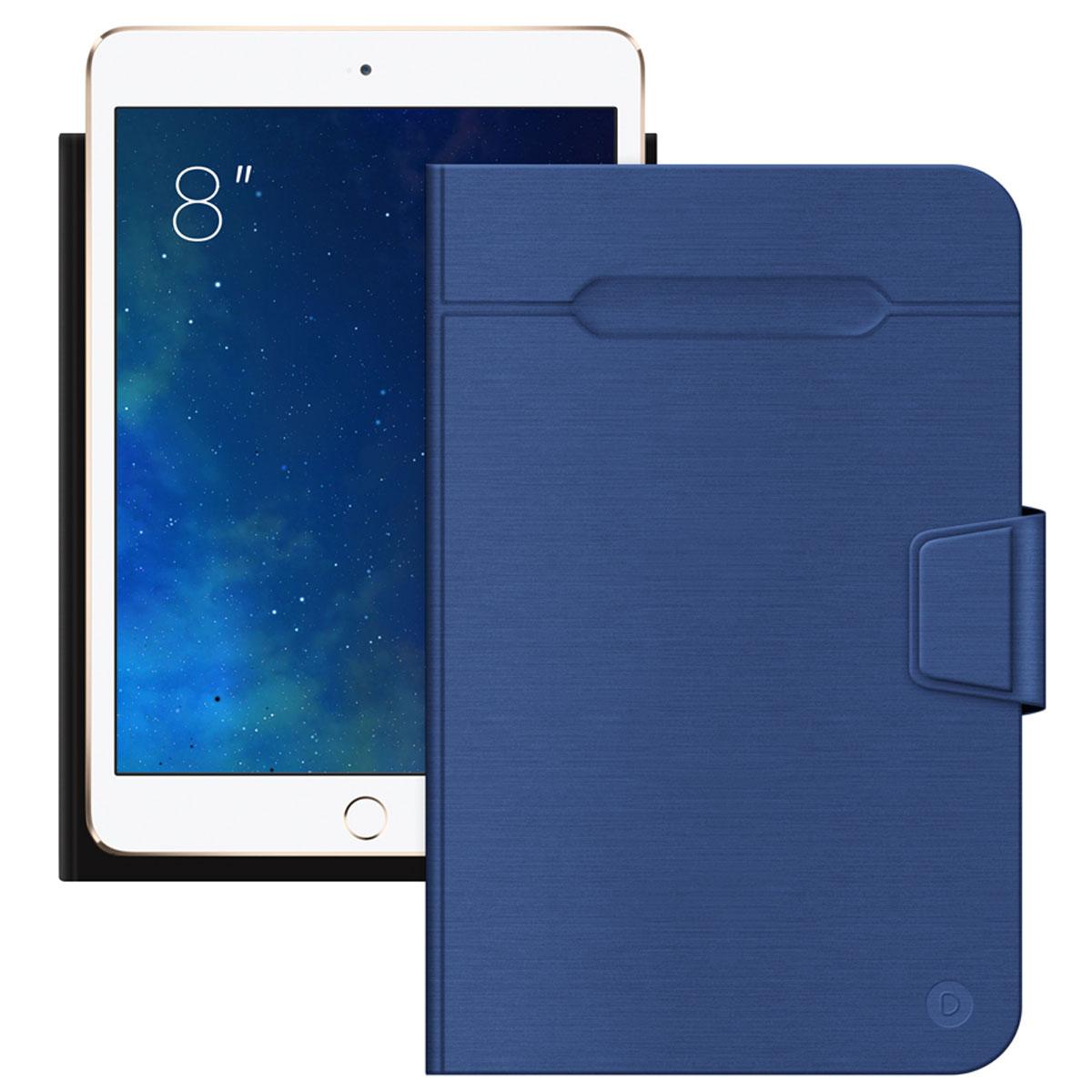 Deppa Wallet Fold чехол-подставка для планшетов 8'', Blue