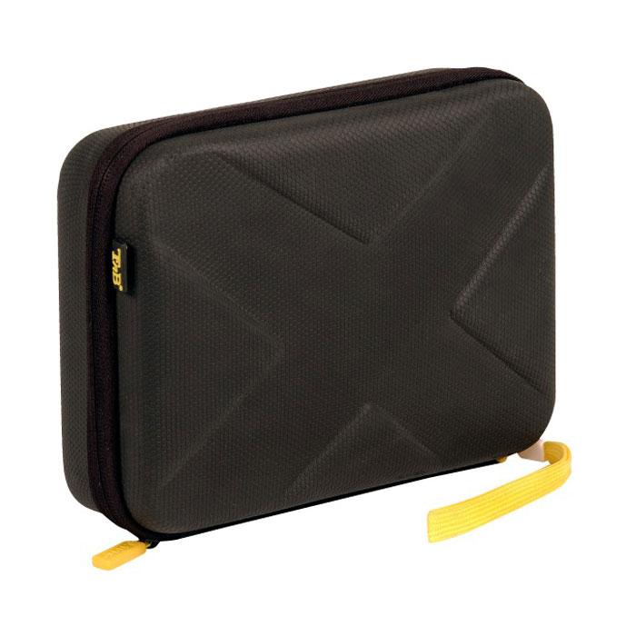TNB SPACBOX сумка для камеры, BlackSPACBOXTNB SPACBOX - это прочная сумка для вашей экшн-камеры и аксессуаров к ней. Специальный материал EVA обеспечит отличную ударопрочность в любых ситуациях. Вспененный полимер надежно защитит камеру и все принадлежности. Сумку можно прикрепить к рюкзаку с помощью ремешка в комплекте. Совместимо с TNB Adrenalin, Go Pro и другими моделями экшн-камер.