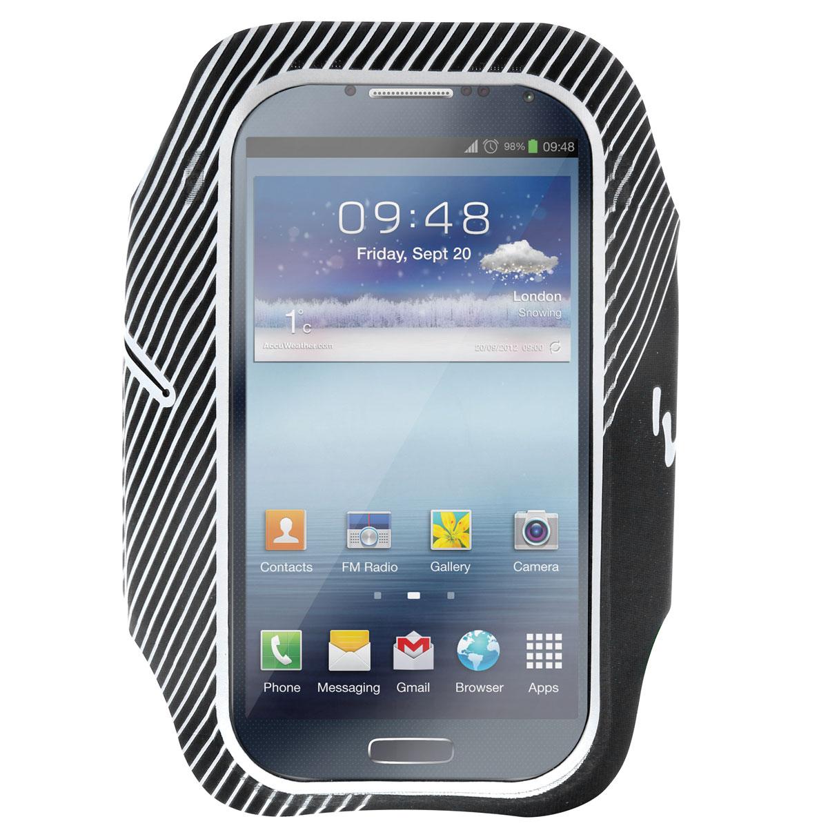 TNB SPARMBK чехол на руку для смартфонаSPARMBKУниверсальный чехол TNB SPARMBK предназначен для устройств диагональю до 5 дюймов. Защитит устройство во время занятий спортом. Полное функционирование сенсорного экрана.