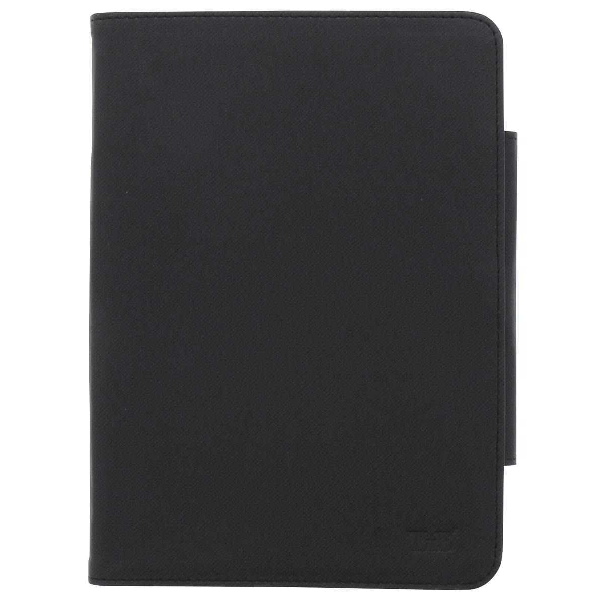 TNB TABREGBK7 универсальный чехол для планшета 7, BlackTABREGBK7Универсальный чехол TNB TABREGBK7 для планшетов с диагональю 7 - это стильный и лаконичный аксессуар, позволяющий сохранить устройство в идеальном состоянии. Надежно удерживая технику, обложка защищает корпус и дисплей от появления царапин, налипания пыли. Его также можно использовать как подставку для чтения или просмотра фильмов. Имеет свободный доступ ко всем разъемам устройства.