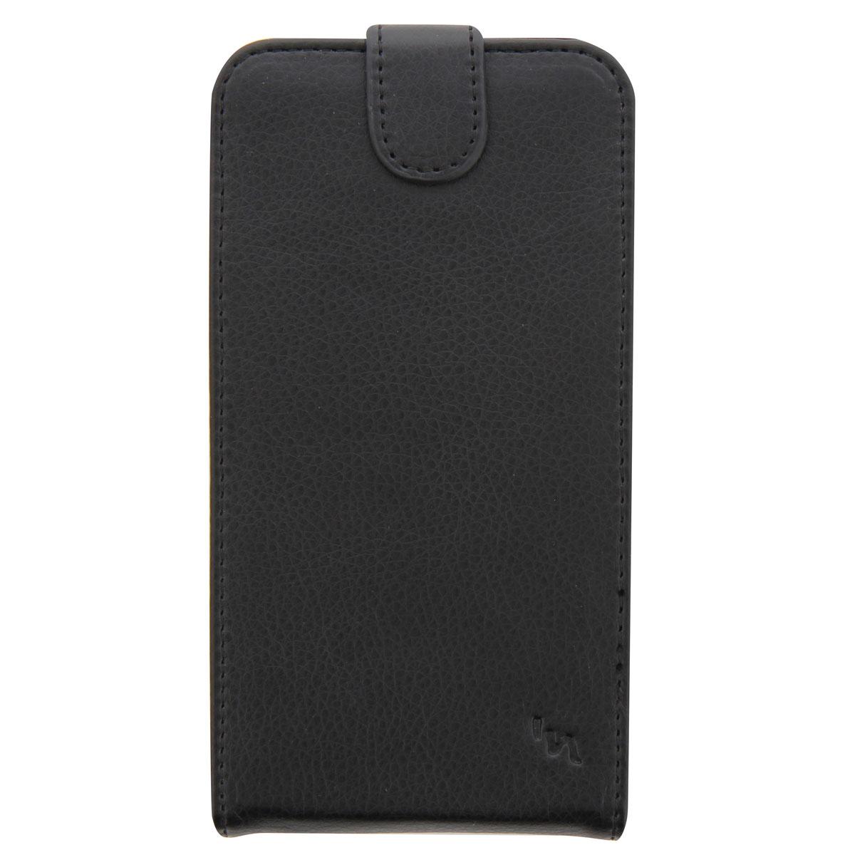 TNB UPFLAPBKM универсальный чехол для смартфонаUPFLAPBKMУниверсальный чехол TNB UPFLAPBKM для смартфонов с диагональю до 5 - это стильный и лаконичный аксессуар, позволяющий сохранить устройство в идеальном состоянии. Надежно удерживая технику, чехол защищает корпус и дисплей от появления царапин, налипания пыли. Имеет свободный доступ ко всем разъемам устройства.
