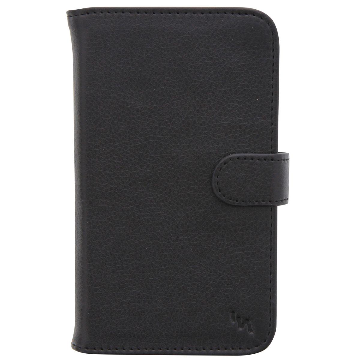 TNB UPFOLBKM универсальный чехол для смартфона, Black чехол книжка norton бежевый рептилия ультратонкий универсальный для смартфонов 3 2 4 2