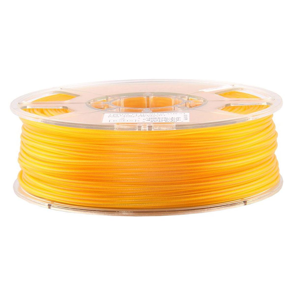 ESUN пластик PLA в катушке, Yellow, 1,75 ммPLA175Y1Пластик PLA от ESUN долговечный и очень прочный полимер, ударопрочный, эластичный и стойкий к моющим средствам и щелочам. Один из лучших материалов для печати на 3D принтере. Пластик не имеет запаха и не является токсичным. Температура плавления190-220°C. PLA пластик для 3D-принтера применяется в деталях автомобилей, канцелярских изделиях, корпусах бытовой техники, мебели, сантехники, а также в производстве игрушек, сувениров, спортивного инвентаря, деталей оружия, медицинского оборудования и прочего.Диаметр нити: 1.75 мм
