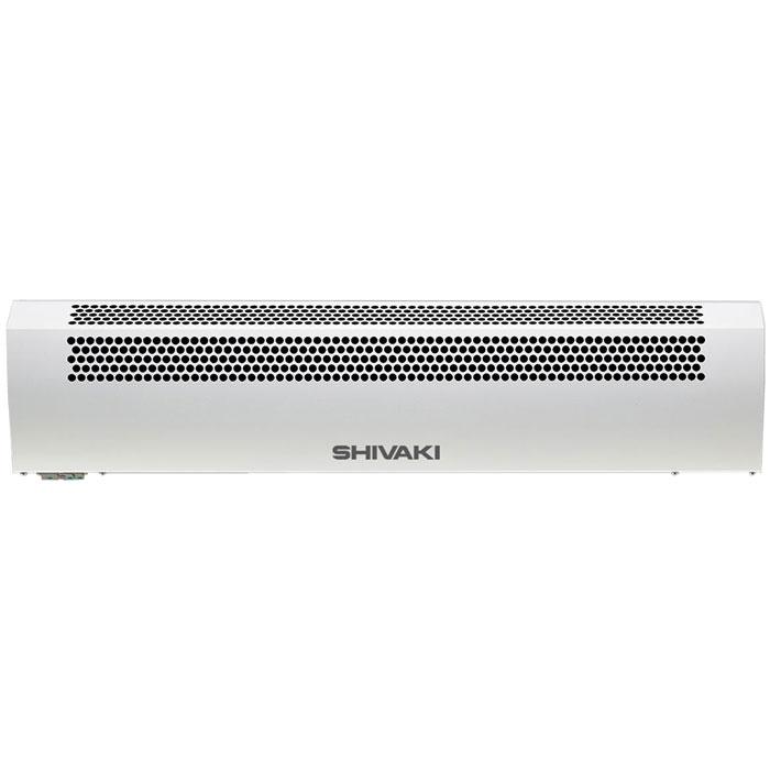 Shivaki SHIF-EAC60W воздушно-тепловая завесаSHIF-EAC60WВоздушно-тепловая завеса Shivaki SHIF-EAC60W предназначена для создания направленного воздушного потока, препятствующего проникновению внутрь помещения холодного наружного воздуха и снижения тепловых потерь в помещении, а также в качестве дополнительного источника тепла. При отключенных электронагревателях завеса может быть использована в летнее время для защиты кондиционируемого помещения от проникновения внутрь теплого наружного воздуха, пыли, дыма, насекомых и т.п. Специальные направляющие сопла формируют плотный воздушный поток с малой турбулентностью, надежно перекрывающий проем. Надежный вентиляционный узел с двигателем повышенной мощности и дополнительным охлаждением двигателя. Завеса предназначена для эксплуатации в районах с умеренным и холодным климатом, в помещениях с температурой окружающего воздуха от -10°С до +40°С и относительной влажности воздуха не более 80% (при температуре +25°С) в условиях, исключающих попадание на нее капель и брызг, а также атмосферных осадков. Прибор снабжен устройством аварийного отключения.Нагревательный стич-элемент с малой инерцией нагрева (быстрый нагрев и остывание)Две ступени мощности и режим работы без нагреваВстроенный термостат для защиты от перегреваУстановка только горизонтальноМощность обогрева: 0 / 3,0 / 6,0кВтНапряжение питания: 220В / 50ГцНоминальный ток: 32 АКласс электрозащиты: I классСтепень защиты: IP10Увеличение температуры воздуха на выходе : 30°С