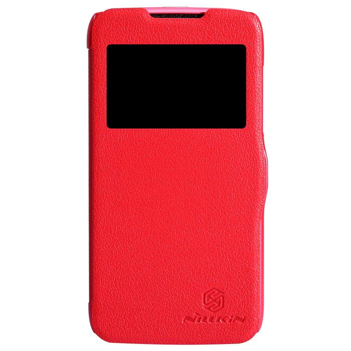 Nillkin Fresh Series Leather Case чехол для Lenovo A516, RedT-N-LA516-001Чехол Nillkin Fresh Series Leather Case сделан из высококачественного поликарбоната и экокожи. Он надежно фиксирует и защищает смартфон при падении. Обеспечивает свободный доступ ко всем разъемам и элементам управления.