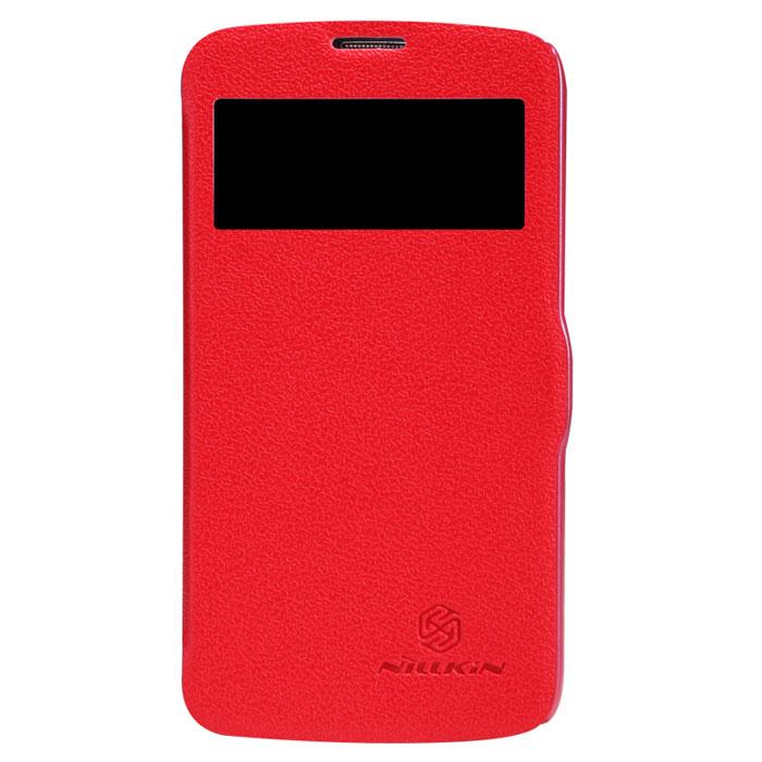 Nillkin Fresh Series Leather Case чехол для Samsung Galaxy S4 Active, RedT-N-SI9295-001Чехол Nillkin Fresh Series Leather Case сделан из высококачественного поликарбоната и экокожи. Он надежно фиксирует и защищает смартфон при падении. Обеспечивает свободный доступ ко всем разъемам и элементам управления.Уникальный дизайн чехла с окном для экрана, в котором отображаются все важные иконки. Нет необходимости открывать чехол для того, чтобы установить время, выбрать музыку, сделать фото, ответить на звонок или прочитать сообщение.