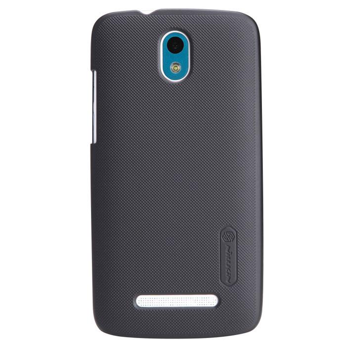 Nillkin Super Frosted Shield чехол для HTC Desire 500, BlackT-N-H500-002Чехол Nillkin Super Frosted Shield дляHTC Desire 500 изготовлен из экологически чистого поликарбоната путем высокотемпературной высокоточной формовки. Обе стороны чехла выполнены в соответствии с самой современной технологией изготовления матовых материалов, устойчивых к оседанию пыли, и покрыты краской, светящейся под воздействием ультрафиолета. Элегантный дизайн, чехол приятен на ощупь. Жесткость чехла предотвращает телефон от повреждений во время транспортировки. Размер чехла точно соответствует размеру телефона с четким соответствием всех функциональных отверстий. Вы можете использовать чехол, как вам будет удобно. Он изготовлен из цельной пластины методом загиба, износостойкий, устойчив к оседанию пыли, не скользит, устойчив к образованию отпечатков, легко чистится.