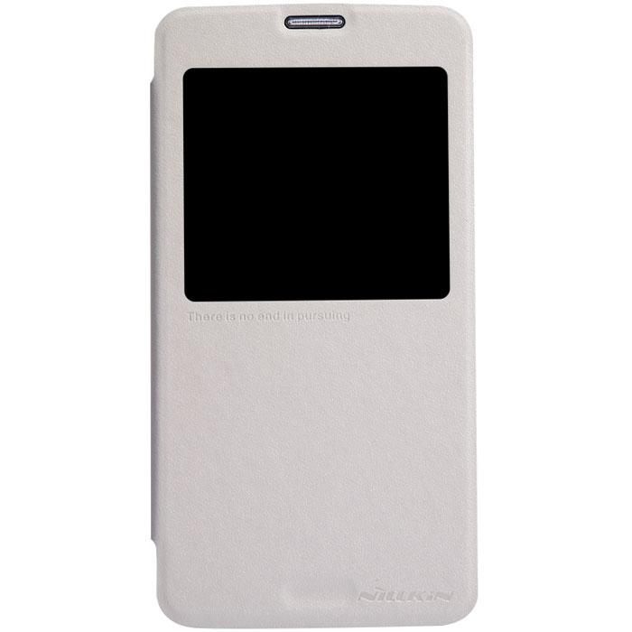 Nillkin Sparkle Leather Case чехол для Samsung Galaxy S5, WhiteT-N-SG900-011Чехол Nillkin Sparkle Leather Case для Samsung Galaxy S5 изготовлен из высококачественной искусственной кожи с перламутровым покрытием. Основа чехла состоит из поликарбоната. Благодаря чувствительному материалу, из которого выполнено функциональное окно, отсутствует необходимость открывать чехол для того, чтобы ответить на вызов, проверить время, воспользоваться камерой или любой другой функцией. Очень удобно и практично.УльтратонкийВодостойкийПротивоскользящийФункциональность: умный сон, автопробуждение