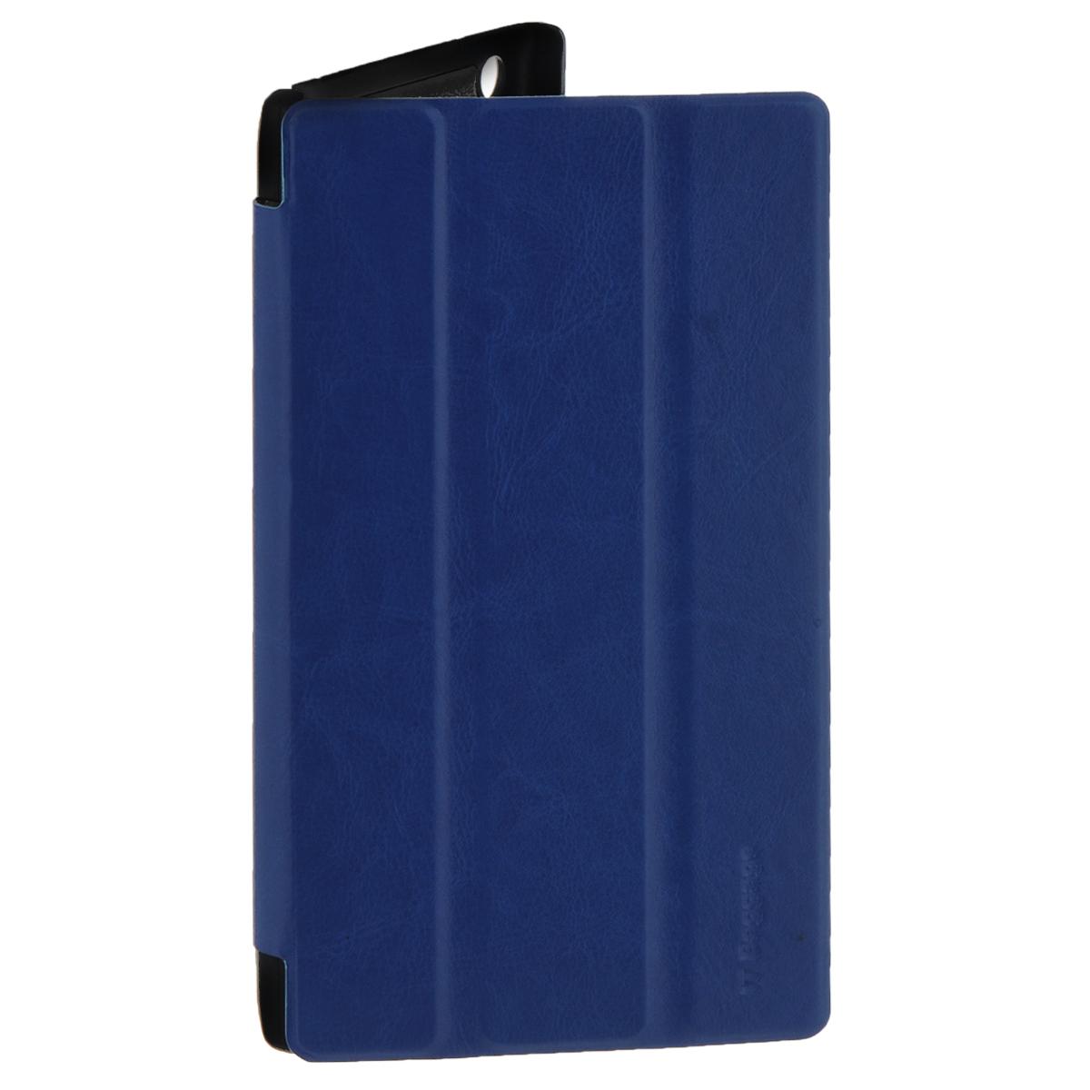 IT Baggage чехол для планшета Lenovo Idea Tab 2 7 A7-30, BlueITLNA7302-4IT Baggage для Lenovo Idea Tab 2 7 A7-30 - удобный и надежный чехол, который надежно защищает ваше устройство от внешних воздействий, грязи, пыли, брызг. Данный чехол поможет при ударах и падениях, смягчая их, и не позволяя образовываться на корпусе царапинам, потертостям. Кроме того, он будет незаменим при длительной транспортировке устройства. Обеспечивает свободный доступ ко всем разъемам и клавишам планшета.