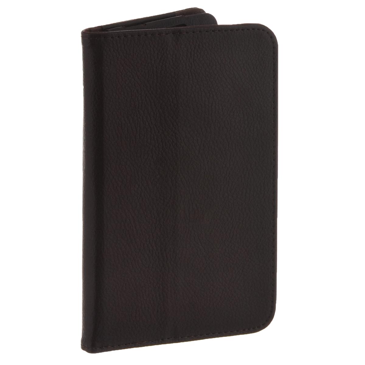 IT Baggage чехол для планшета Lenovo Idea Tab 2 7 A7-30, BrownITLNA7302-2IT Baggage для Lenovo Idea Tab 2 7 A7-30 - удобный и надежный чехол, который надежно защищает ваше устройство от внешних воздействий, грязи, пыли, брызг. Данный чехол поможет при ударах и падениях, смягчая их, и не позволяя образовываться на корпусе царапинам, потертостям. Кроме того, он будет незаменим при длительной транспортировке устройства. Обеспечивает свободный доступ ко всем разъемам и клавишам планшета.