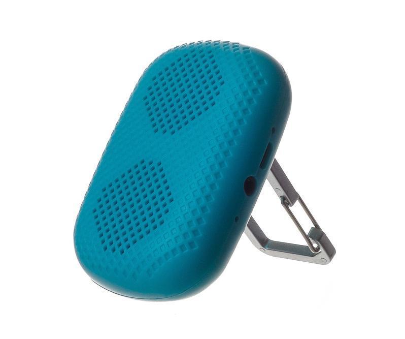 Harper PS-041, Blue портативная колонкаPS-041 BlueHarper PS-041 позволит прослушивать любимые треки где бы вы не находились. Мини-колонка достаточно компактная и легкая. Ее можно взять с собой на прогулку, в дорогу или на природу. Посредством беспроводного канала динамик легко подключается практически к любому современному устройству, в том числе смартфону, планшету или ноутбуку, при этом радиус действия сигнала составляет до 10 метров. В случае, когда плеер не оснащен модулем беспроводной связи, его подключение к мини-колонке производится через порт AUX. Все кнопки управления находятся на задней панели. LED индикатор, вынесенный на боковую грань, сообщит пользователю о низком заряде аккумулятора. Чтобы ответить на звонок, вам не нужно доставать телефон из кармана, достаточно кратко нажать на кнопку Hand-Free. Встроенный микрофон расположен рядом с разъемом для подзарядки и входом AUX. Мини-колонка оснащена карабином, который позволяет установить устройство на ровную поверхность или пристегнуть к сумке.Время работы через Bluetooth до 7 часов. Bluetooth V2.1Мощность 2ВтМаксимальная дальность работы - 10 метров Встроенный микрофон.