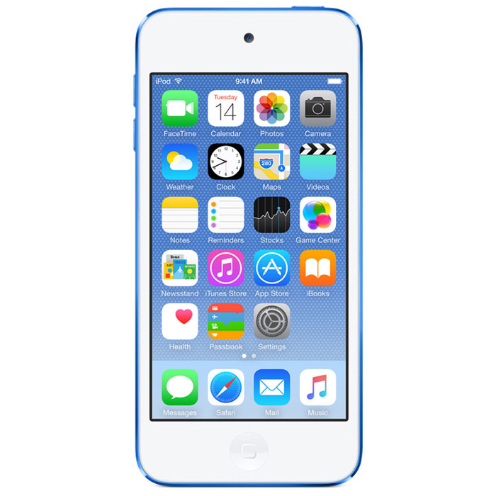 Apple iPod Touch 6G 32GB, Blue mp-3 плеер