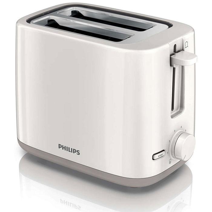 Philips HD2595/00 тостерHD2595/00Компактный тостер Philips HD2595/00 позволяет наслаждаться вкусными тостами в любое время. Два больших отделения для тостов с регулируемой шириной для равномерного поджаривания и регулятор степени обжаривания позволяет готовить тосты именно так, как вам нравится. Съемный поддон для крошек облегчает процесс чистки.2 широких отделения для обжаривания ломтиков4 в 1 (разогрев/разморозка/отмена/7 режимов обжаривания)Функция отмены позволяет в любое время остановить приготовление тостовТермоизоляция: корпус не нагревается во время приготовления тостовФункция разморозки для обжаривания замороженных ломтиков хлебаСпециальный подъемник позволяет легко доставать небольшие ломтики хлебаФункция разогрева позволяет подогреть тост за считанные секундыВыдвижной поддон для крошек для простоты очистки