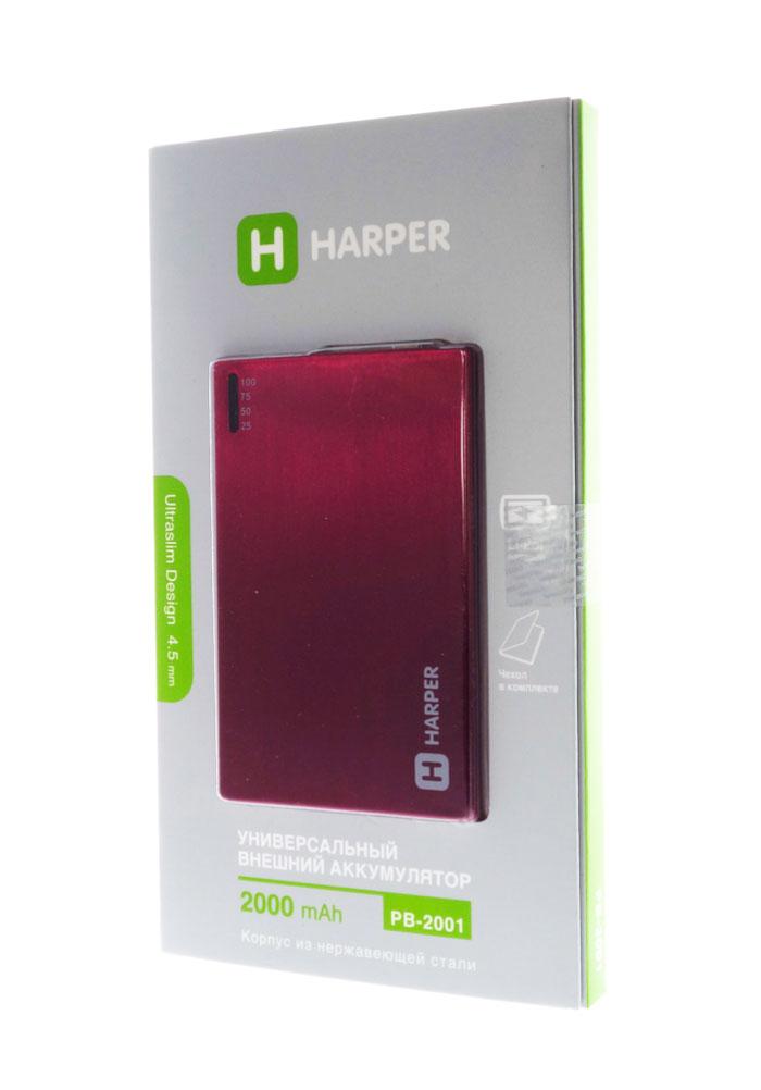 Harper PB-2001, Rose внешний аккумуляторPB-2001 roseУникальность модели заключается в сочетании компактных размерах и довольно большой емкости батареи аккумулятора. Толщина аккумулятора составляет всего 4,5 миллиметра. Легко умещается в заднем кармане брюк или даже в бумажнике. При этом объем заряда 2000 мАч. Этого достаточно для того чтобы полностью зарядить батарею большинства популярных среди пользователей смартфонов. А любители активного пользования мобильных устройств подтвердят как важно иметь возможность вовремя подзарядить телефон.