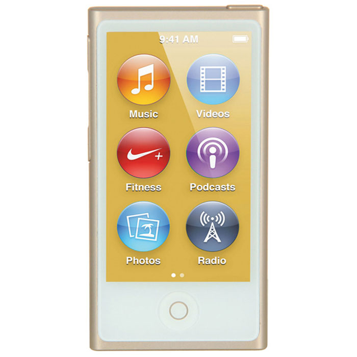 Apple iPod nano 16 GB (7 Gen), Gold MP3-плеер