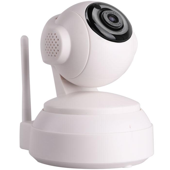 iVUE IV2405P IP камера видеонаблюдения4650067650739Беспроводная WiFi IP камера iVUE IV2405P имеет формат сжатия Н.264 и разрешение 1MPX, что делает возможным высококачественную передачу видео и аудио сигнала в сеть. Камера имеет ИК подсветку в темное время суток, ИК фильтр для улучшения качества изображения, аудио вход и выход, встроенные микрофон и динамики, наклон/поворот, встроенный датчик движения. Кроме того, камера совместима со смартфонами iPhone, Android и Blackberry, а так же поддерживает просмотр через интернет, используя стандартный браузер или специальную программу CMS. Наличие слота для SD карты позволяет использовать ее для записи при срабатывании детектора движения. . С помощью этой камеры можно удалённо наблюдать за детьми в квартире, за своим домом, за работой офиса или магазина.Различные стандарты сжатия видео нужны для оптимизации пропускной способности сети и объёма жёстких дисков за счёт уменьшения размера файлов видеозаписей. Новейший стандарт H.264 значительно повышает эффективность сжатия видеопотока при сохранении высокого качества. ИК фильтр – это цветной фильтр света, блокирующий инфракрасные волны. С его помощью можно получить реальные цвета объекта при видеонаблюдении в тёмное время суток или на слабоосвещенных точках наблюдения, а так же позволяет расширить возможности цветокоррекции.Совместимость с мобильными операционными системами позволяет пользователям видеонаблюдения удалённо заходить на свои камеры, находясь в любой точке мира, имея в своих руках лишь мобильный телефон или планшет с доступом в интернет. Вход осуществляется через специальные программные приложения, которые можно бесплатно скачать в Google Play и iTunes Store.ПО Централизованного Управления (CMS) – специальное программное обеспечение, служащее для организации совместного доступа к управлению и настройкам видеокамер, а так же непосредственно к самому процессу видеонаблюдения, редактированию и управлению видео контентом. Возможно также подключение к камере через обыч
