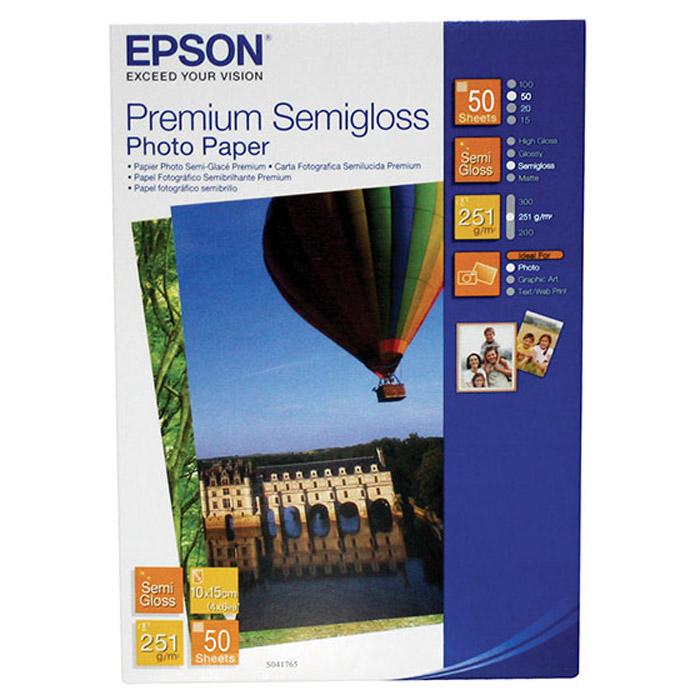 Epson C13S041765 полуглянцевая фотобумага
