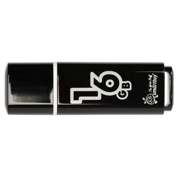 SmartBuy Glossy Series 16GB, Black USB-накопитель