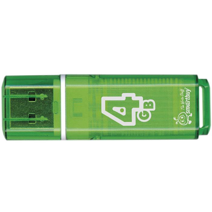 SmartBuy Glossy Series 4GB, Green USB-накопитель