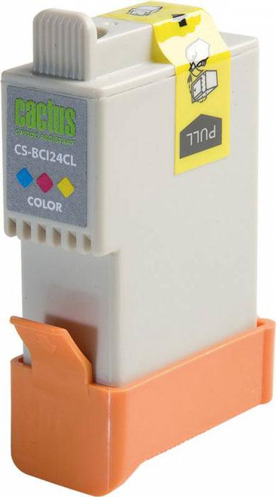 Cactus CS-BCI24CL, Color струйный картридж для Canon S200/ S200x/ S300/ S330/ S330 Photo; i250/ i320/ i350/ i450CS-BCI24CLКартридж Cactus CS-BCI24CL для струйных принтеров Canon.Расходные материалы Cactus для печати максимизируют характеристики принтера. Обеспечивают повышенную четкость изображения и плавность переходов оттенков и полутонов, позволяют отображать мельчайшие детали изображения. Обеспечивают надежное качество печати.