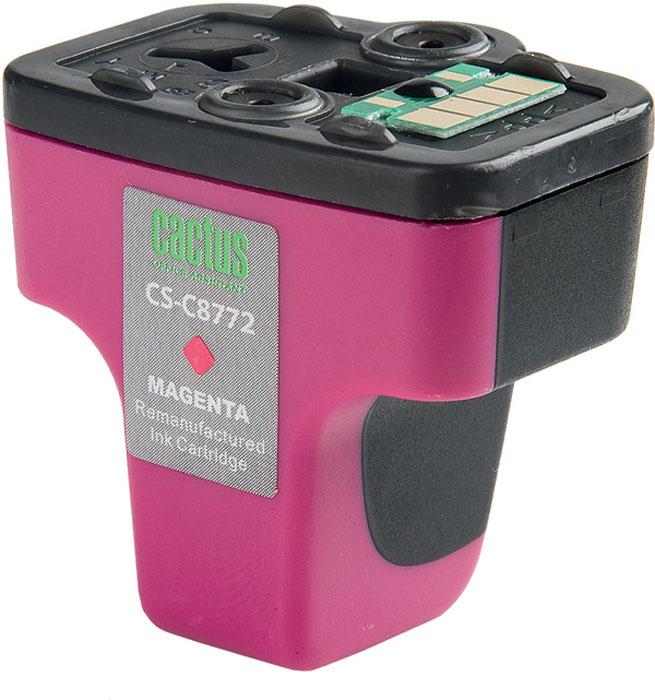 Cactus CS-C8772, Magenta струйный картридж для HP PhotoSmart 3213/3313/8253/C5183/C6183/C6283/C7183CS-C8772Картридж Cactus CS-C8772 для струйных принтеров HP PhotoSmart.Расходные материалы Cactus для печати максимизируют характеристики принтера. Обеспечивают повышенную четкость изображения и плавность переходов оттенков и полутонов, позволяют отображать мельчайшие детали изображения. Обеспечивают надежное качество печати.