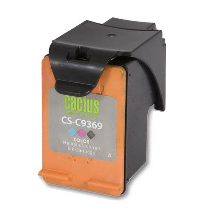 Cactus CS-C9369, Color струйный картридж для HP DJ 5743/6543/6843 cactus cs c6657 57 color картридж струйный для hp 450 5145 5150 5151 5550 5552 5650 5652 565