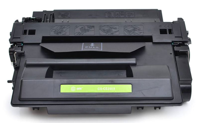 Cactus CS-CE255XS, Black тонер-картридж для HP LaserJet P3015 картридж для принтера и мфу cactus cs c8765 131 black
