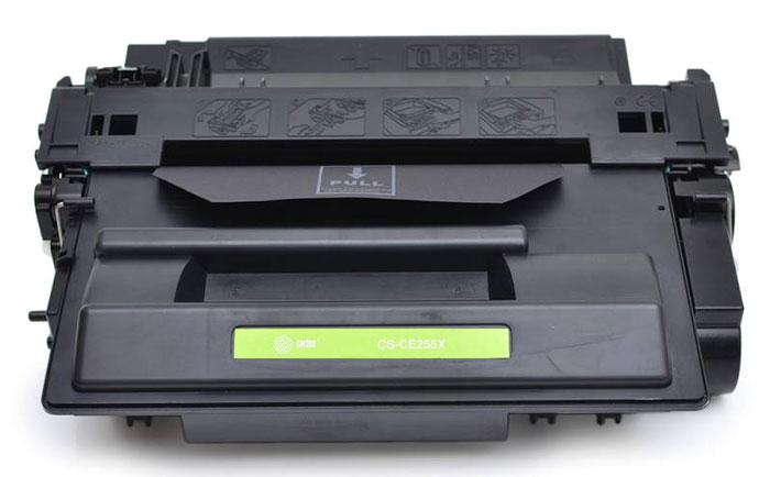 Cactus CS-CE255XS, Black тонер-картридж для HP LaserJet P3015 тонер cactus cs ce285as black