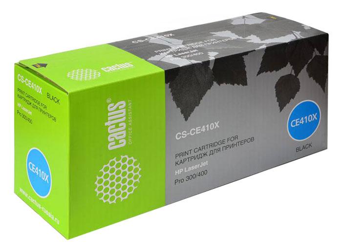 Cactus CS-CE410X, Black тонер-картридж для HP CLJ Pro 300 Color M351 /Pro 400 Color M451CS-CE410XКартридж Cactus CS-CE410X для лазерных принтеров HP.Расходные материалы Cactus для лазерной печати максимизируют характеристики принтера. Обеспечивают повышенную чёткость чёрного текста и плавность переходов оттенков серого цвета и полутонов, позволяют отображать мельчайшие детали изображения. Обеспечивают надежное качество печати.