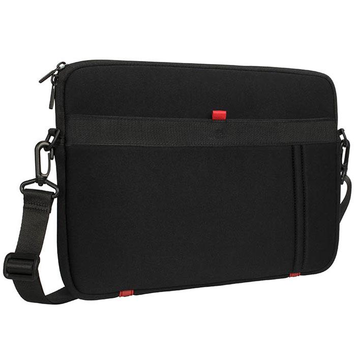 Riva 5120 сумка для ноутбука 13,3, BlackRivaCase 5120 blackСумка Riva 5120 подходит для большинства ноутбуков, ультрабуков до 13.3, а также Apple MacBook Pro/MacBook Air 13. Она выполнена из специального материала LRPU с эффектом памяти - Memory form и надежно защитит ваше устройство от случайных ударов и царапин, а также от пыли и влаги. Легкий и и плотный материал, внешний карман для аксессуаров и документов и двойная застежка молния обеспечивают удобство в использовании. В комплекте поставляется регулируемый, съемный плечевой ремень.