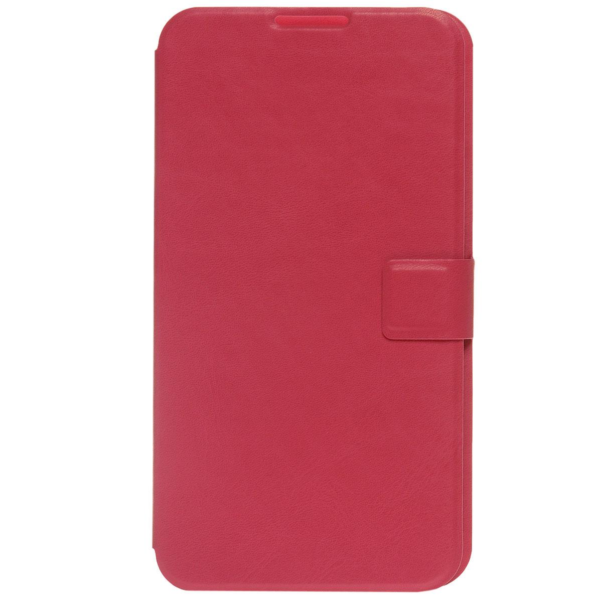 Ecostyle Shell универсальный чехол для телефонов с экраном 3.5-4.2, RedESH-B-UNI35-REDEcostyle Shell - универсальный чехол-книжка, который надежно защитит ваш телефон от механических повреждений, грязи и пыли. Конструкция чехла обеспечивает свободный доступ к разъемам, камере и основным функциям смартфона. Мягкая внутренняя поверхность защищает экран устройства от царапин.
