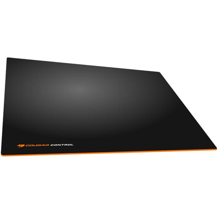 Cougar Control L, Black Orange коврик для мышиCUCOLИгровые ковры Cougar Control имеют текстурную поверхность для максимальной точности. Ярко-оранжевая основа Cougar Control вызовет жгучую зависть у друзей и знакомых.Нескользящая ярко-оранжевая резиновая основа с волнообразной фактурой гарантирует высокоточную работу сенсора, позволяя обойтись без лишних рывков.Идеальная толщина в 4 мм для наилучшего комфорта кисти руки.Водонепроницаемая текстурная 3D поверхность обеспечивает максимально точное сцепление с мышью.