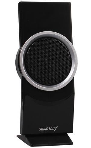 SmartBuy Elven Rock SBA-1800 акустическая системаSBA-1800Настольная акустическая система SmartBuy ELVEN ROCKпредназначена для подключения к компьютеру, ноутбуку и к другим электронным устройствам имеющим стандартный Audio-разъем Jack 3.5 мм. Суммарная выходная мощность колонок 6Вт. Акустические характеристики системы также сделаны на высоте: расширенный частотный диапазон позволяет системе чисто воспроизводить любую музыку от тяжелого рока до классики, а выход для подключения наушников снимает необходимость каждый раз отключать колонки от компьютера, чтобы на их место подключить наушники.В качестве элементов управления SmartBuy ELVEN ROCKимеютрегулятор громкости и питание от порта USB.