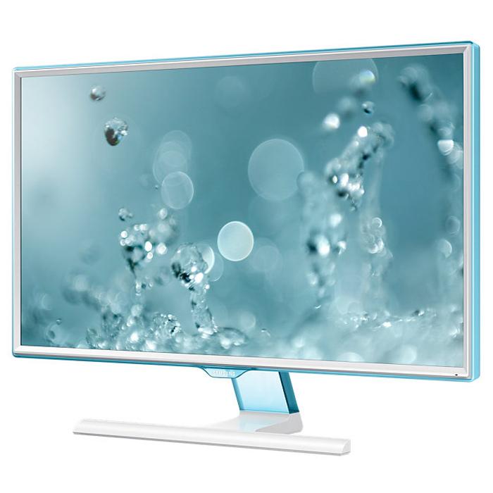 Samsung S24E391HL мониторLS24E391HLO/RUВ обновленном мониторе Samsung S24E391HL обновил дизайн рамки, подчеркивая его полупрозрачным голубым оттенком Touch of Color. Супертонкая рамка с четырех сторон дисплея обеспечивают чистый и современный внешний вид и естественным образом фокусируют взгляд на изображении. Дизайн Touch of Color переходит так же на подставку, что обеспечивает гармоничный и целостный общий дизайн монитора.Используемая матрица обеспечивает широкие углы обзора (178°/178°) по горизонтали и по вертикали для удобства работы. Разрешение Full HD 1920 x 1080 обеспечивает невероятно качественную картинку! Голубое свечение при длительном воздействии отрицательно влияет на зрение, а режим Eye Saver Mode понижает нагрузку на глаза во время работы за монитором Samsung S24E391HL путем снижения интенсивности голубого свечения. Технология Flicker Free обеспечивает защиту глаз от постоянного напряжения, вызванного мерцанием и позволяет дольше работать.Эко-энергосберегающая технология снижает яркость экрана для повышения энергоэффективности. Доступны ручная (25%, 50%) и автоматическая (снижает потребление примерно на 10%*) регулировка яркости черных секций экрана. Для уменьшения негативного влияния на окружающую среду в мониторе Flicker Free не используется ПВХ Наслаждайтесь плавные изображения даже во время динамичных сцен: с малым временем отклика вы можете быть уверены, что ваш монитор будет справляться с любыми фильмами, играми, содержащими самые динамичные сцены. Функция Magic Upscale обеспечит автоматическое сглаживание текстур изображения малого разрешения, чтобы вы могли насладиться качественной картинкой.