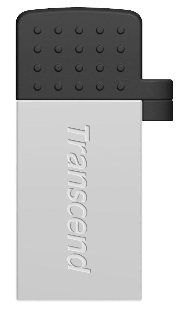 Transcend JetFlash 380 32GB, Silver USB-накопительTS32GJF380SФлэш-накопитель Transcend JetFlash 380 USB OTG разработан, чтобы преобразовать способ переноса и обмена персональными коллекциями медиафайлов. Более того, бесплатное приложение Transcend Elite позволит просматривать содержимое накопителя, а также осуществлять резервное копирование фотографий, видеозаписей, документов и других важных для пользователя файлов, которые хранятся в памяти смартфона или планшета.Два интерфейса доступа:С одной стороны находится интерфейс micro USB, который позволяет подключать флэш-накопитель к мобильным устройствам. С другой стороны, JetFlash 380 оснащен и полноразмерным USB-разъемом, который пригодится для обмена файлами с компьютерами, оборудованными обычными портами USB.Передача данных в любое время и в любом месте:JetFlash 380 позволяет пользователям перемещать или копировать файлы с/на карту памяти своего мобильного устройства с помощью постоянной USB связи, которая быстрее и надёжнее чем Wi-Fi, Bluetooth и мобильный интернет 3G/4G.Приложение Transcend Elite для USB OTG:Приложение Transcend Elite позволяет просматривать и делиться содержимым накопителя, а также осуществлять быстрое резервное копирование файлов, которые хранятся в памяти вашего устройства.