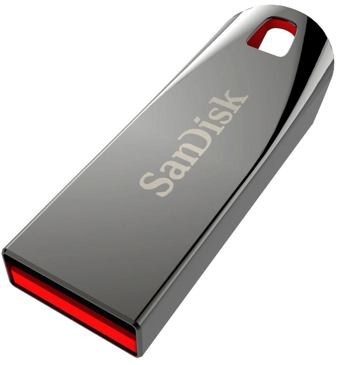 SanDisk Cruzer Force 64GB, Metallic USB-накопительSDCZ71-064G-B35USB-накопитель SanDisk Cruzer Force — это стильное и запоминающееся устройство, достаточно вместительное для хранения больших объемов данных. Данный USB-накопитель выполнен в прочном металлическом корпусе, который придает ему особый шик. Благодаря большой емкости на этом надежном накопителе будет достаточно места даже для самых больших файлов, включая изображения высокого разрешения и видео. В комплекте с устройством поставляется программное обеспечение SanDisk SecureAccess, с помощью которого можно создать зашифрованную папку, защищенную паролем. Вы сможете передавать те файлы, которые захотите, исключая при этом возможность доступа к другим файлам.Надежный металлический корпусДостаточно места для хранения видео в формате HD, музыки и фотографийПортативный флеш-накопитель, который без труда поместится в любую сумку или карманПропускная способность интерфейса: 480 Мбит/секСовместимость: Windows 8, Windows 7, Windows Vista, Windows XP x64, Windows XP, Windows 2000, Linux, MAC OS X