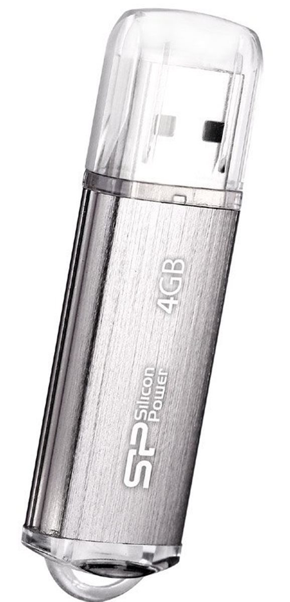Silicon Power Ultima II l-Series 4GB, Silver USB-накопитель