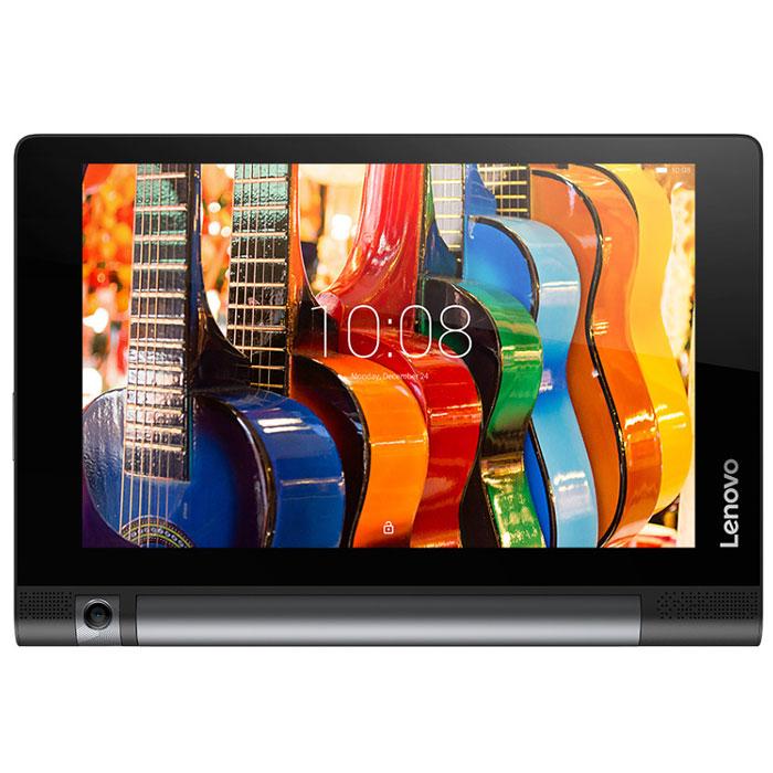 Lenovo Yoga Tablet 3 850M 16GB 8 (ZA0B0018RU)ZA0B0018RULenovo Yoga Tablet 3 850M - планшетный компьютер с инновационной конструкцией. Цилиндрический аккумуляторный блок и подставка расположены сбоку устройства, благодаря чему центр тяжести смещен и устройство можно использовать в различных режимах: просто держать планшет (как вы обычно читаете книгу), расположить экран в наклонном положении (например, поставить его на стол и показать презентацию), расположить в виде домика (консоль) или повесить на любой крючок для демонстрации изображений. Это значит четыре разных способа работы с медиа-контентом, играми и т. д.Планшет Lenovo Yoga Tablet 3 обладает ярким HD-дисплеем (1280 х 800) и парой расположенных спереди динамиков. Использование технологии обработки звука Dolby Atmos 3D позволяет добиться эффекта присутствия.Камера планшета поворачивается на 180 градусов. Это обеспечивает наилучшую картинку с любого угла обзора, позволяет более комфортно использовать видеочат в Skype и дает больше возможностей сделать отличное селфи. Все в одном — лучшие возможности делать отличные фото с помощью планшета.В качестве стилуса можно использовать любой подходящий предмет, даже обычный карандаш. Одного заряда аккумулятора хватает на 20 часов — таким образом планшет Lenovo Yoga Tablet 3 850M может работать весь день и до самой ночи без подзарядки.