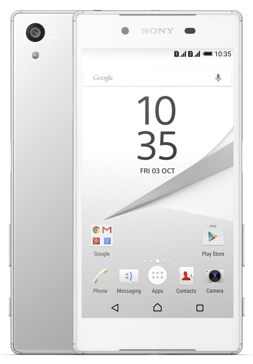 Sony Xperia Z5 Dual, White - Смартфоны